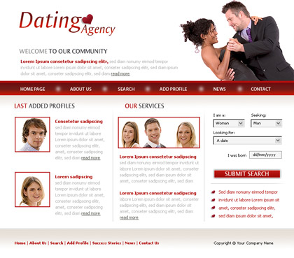 27+ dating website themes & templates | free & premium templates.